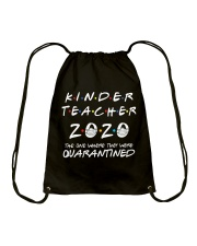 Kinder Teacher 2020 Drawstring Bag thumbnail