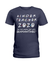 Kinder Teacher 2020 Ladies T-Shirt thumbnail