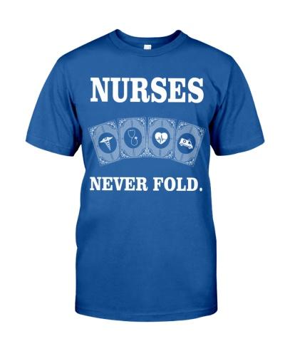 Nurses never fold