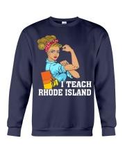I TEACH RHODE ISLAND Crewneck Sweatshirt thumbnail