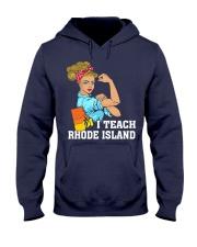 I TEACH RHODE ISLAND Hooded Sweatshirt thumbnail