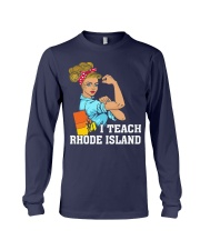 I TEACH RHODE ISLAND Long Sleeve Tee thumbnail