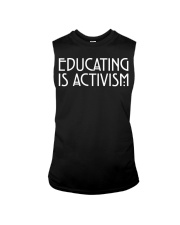 EDUCATING IS ACTIVISM Sleeveless Tee thumbnail