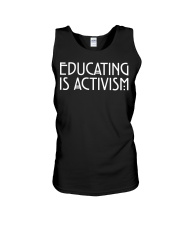 EDUCATING IS ACTIVISM Unisex Tank thumbnail