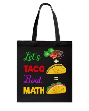 LET'S TACO 'BOUT MATH Tote Bag tile