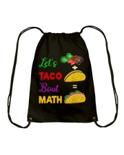 LET'S TACO 'BOUT MATH Drawstring Bag thumbnail