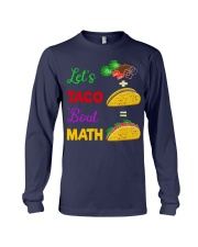 LET'S TACO 'BOUT MATH Long Sleeve Tee thumbnail