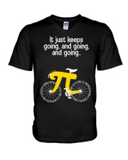 Math Pi V-Neck T-Shirt thumbnail