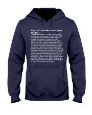 Why SPED teacher's can't sleep at night Hooded Sweatshirt thumbnail