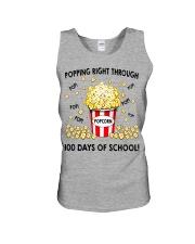 POPPING RIGHT THROUGH 100 DAYS OF SCHOOL Unisex Tank thumbnail