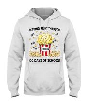 POPPING RIGHT THROUGH 100 DAYS OF SCHOOL Hooded Sweatshirt thumbnail