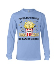 POPPING RIGHT THROUGH 100 DAYS OF SCHOOL Long Sleeve Tee thumbnail