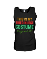 THIS IS MY TIRED NURSE COSTUME SCARY ISN'T IT Unisex Tank thumbnail