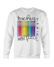 Teaching Pre-K With Flair Crewneck Sweatshirt thumbnail