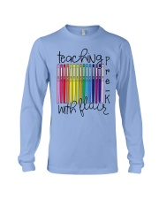 Teaching Pre-K With Flair Long Sleeve Tee thumbnail