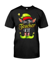 I'M THE TEACHER ELF Classic T-Shirt thumbnail
