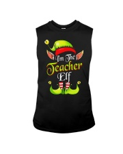 I'M THE TEACHER ELF Sleeveless Tee thumbnail