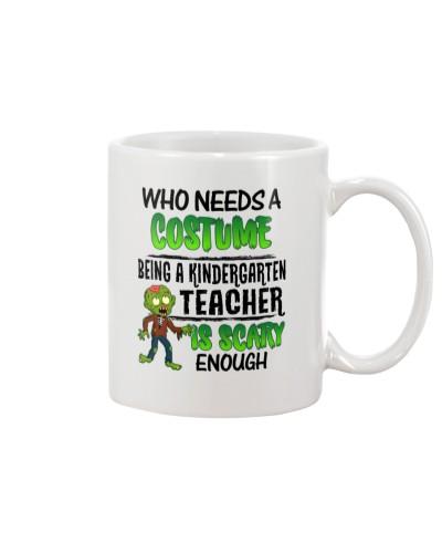 WHO NEEDS A COSTUME BEING A KINDERGARTEN TEACHER