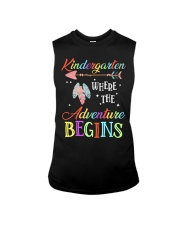 Kindergarten where the Adventure Begins Sleeveless Tee tile