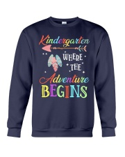 Kindergarten where the Adventure Begins Crewneck Sweatshirt tile