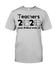 Teachers 2020 just rolling with it Classic T-Shirt thumbnail
