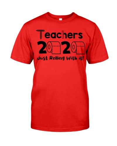 Teachers 2020 just rolling with it
