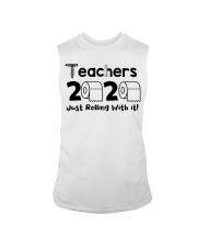 Teachers 2020 just rolling with it Sleeveless Tee thumbnail