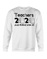Teachers 2020 just rolling with it Crewneck Sweatshirt thumbnail
