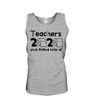 Teachers 2020 just rolling with it Unisex Tank thumbnail
