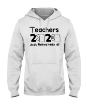 Teachers 2020 just rolling with it Hooded Sweatshirt thumbnail