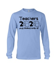 Teachers 2020 just rolling with it Long Sleeve Tee thumbnail