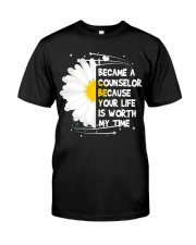I became a Counselor Classic T-Shirt front