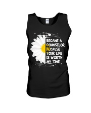 I became a Counselor Unisex Tank thumbnail