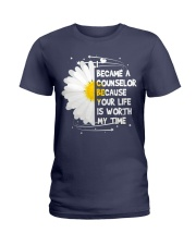 I became a Counselor Ladies T-Shirt thumbnail