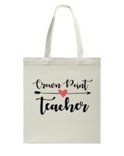 Crown point Teacher Tote Bag thumbnail