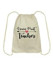 Crown point Teacher Drawstring Bag thumbnail