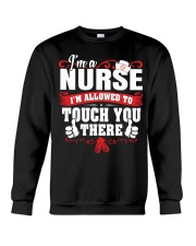 I'M A NURSE Crewneck Sweatshirt thumbnail