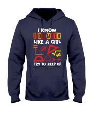 I know i do math like a girl Hooded Sweatshirt thumbnail