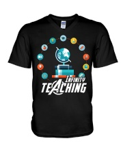 Infinity Teaching V-Neck T-Shirt thumbnail