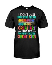 Great Art Kids Classic T-Shirt front