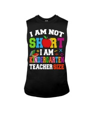 I AM KINDERGARTEN TEACHER SIZE Sleeveless Tee thumbnail
