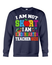 I AM KINDERGARTEN TEACHER SIZE Crewneck Sweatshirt thumbnail