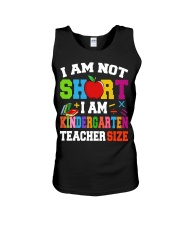 I AM KINDERGARTEN TEACHER SIZE Unisex Tank thumbnail