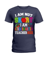 I AM KINDERGARTEN TEACHER SIZE Ladies T-Shirt thumbnail