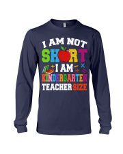 I AM KINDERGARTEN TEACHER SIZE Long Sleeve Tee thumbnail