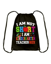 I AM KINDERGARTEN TEACHER SIZE Drawstring Bag thumbnail