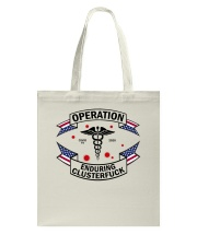 Operation endurring clusterfuck Tote Bag thumbnail