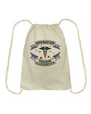 Operation endurring clusterfuck Drawstring Bag thumbnail