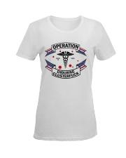 Operation endurring clusterfuck Ladies T-Shirt women-premium-crewneck-shirt-front
