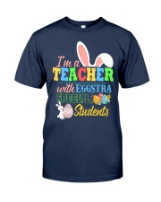 I'm a Teacher with Eggstra special Students Classic T-Shirt tile